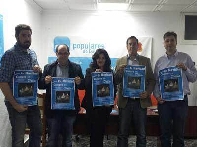 Campaña del Partido Popular de Dalías en Apoyo del Comercio Local