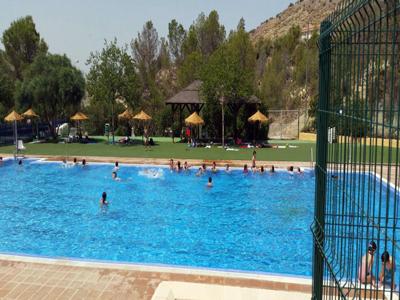 Almeria24h tabernas arranca la temporada de bao en for Piscina municipal almeria