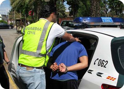 Noticia de Almería 24h: Tras quemar un invernadero, un hombre agrede brutalmente a un guardia civil para intentar escaparse