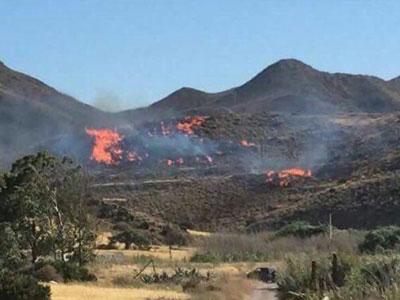 Noticia de Almería 24h: El Infoca da por controlado el incendio del Parque Natural Cabo de Gata