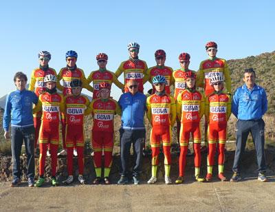 Noticia de Almería 24h: Concentración del Club Ciclista Ciudad de El Ejido en Cabo de Gata