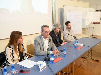 Noticia de Almería 24h: Una exposición muestra las ideas propuestas para la rehabilitación del Torreón de San Miguel