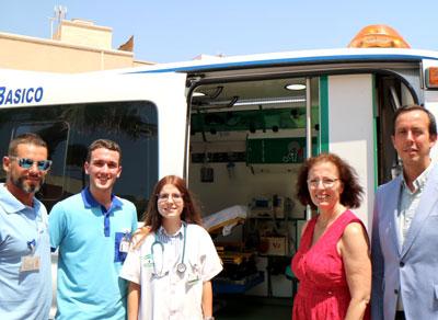 Salud refuerza en verano los centros de atención primaria de las zonas costeras de Almería