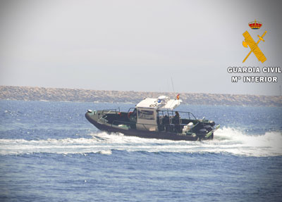 Noticia de Almería 24h: La Guardia Civil de Almería recibe una nueva embarcación de apoyo que mejorará el servicio en el litoral