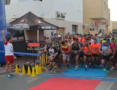 Noticia de Almería 24h: Mauricio Lobato y Elena Weyh ganan la I Carrera de Las Dunas, en Cabo de Gata
