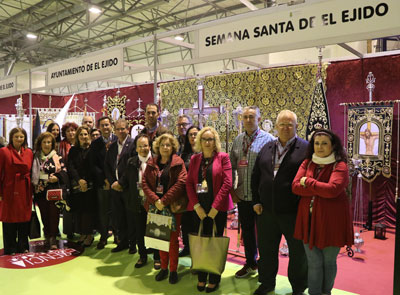 @Almeria24h - El Ejido. Las Cofradías y Hermandades de El Ejido presentes en la I Feria Esencia Cofrade - Almería 24h