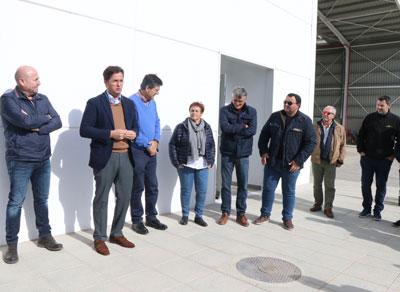 @Almeria24h - El Ejido. Frutilados del Poniente ya es capaz de transformar diariamente 60.000 kilos de destríos de las cooperativas hortofrutícolas en 80.000 kilos de alimento para ganado - Almería 24h