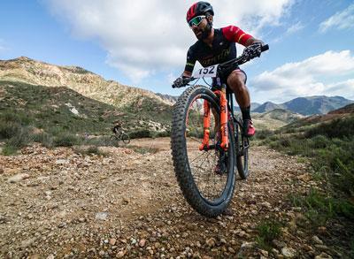 Noticia de Almería 24h: La sexta edición de la Ruta MTB Natura Bike conquista  Cabo de Gata